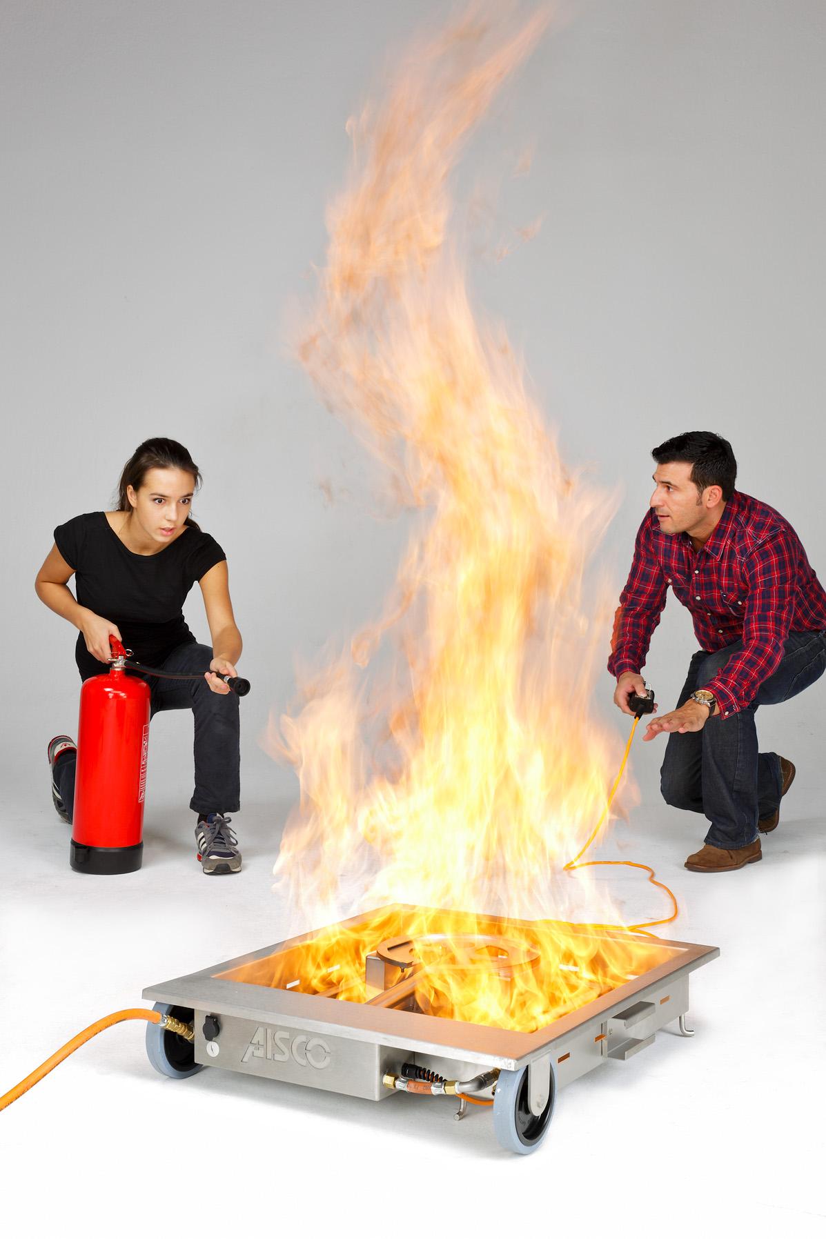 AISCO Firetrainer - Fire Trainer E100 Brandfläche