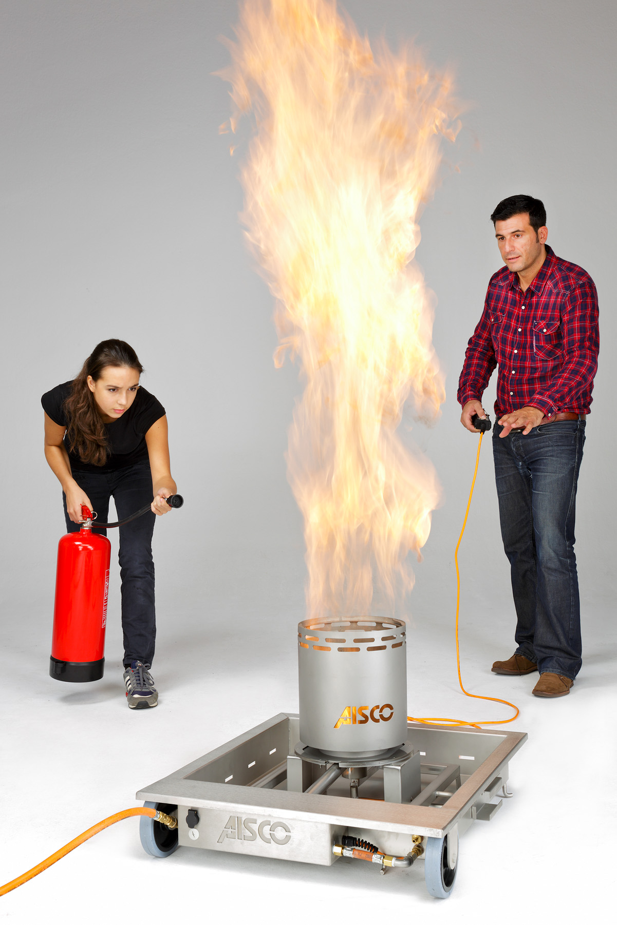 AISCO Firetrainer - Fire Trainer E 100 mit PSF 3in1
