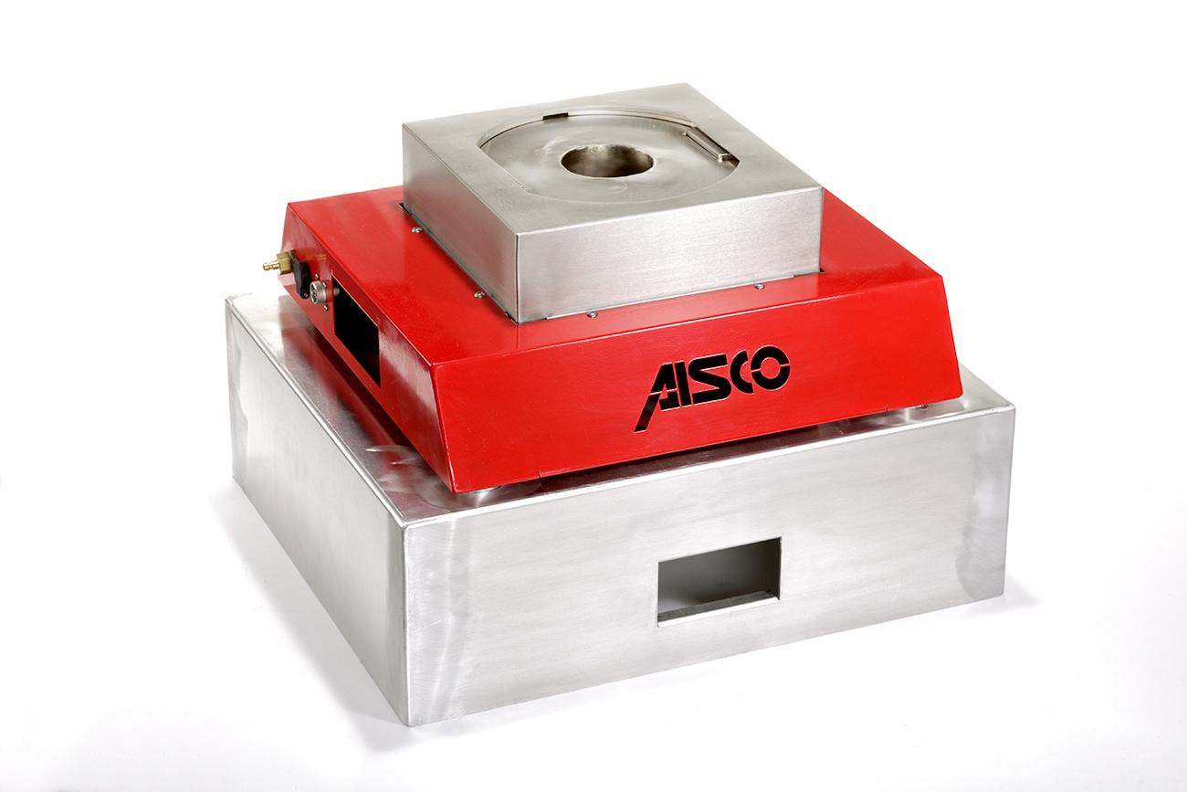 AISCO Firetrainer - Fire Trainer Ultralight UL1 auf dem Transportbox